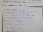 愛知県豊田市 30代女性 I.Aさん メッセージ